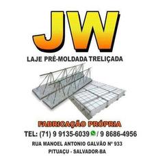 Jw Laje Pré-moldada Treliçada De Isopor (eps)