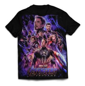 Camisa Camiseta Avengers Endgame Os Vingadores Ultimato 01
