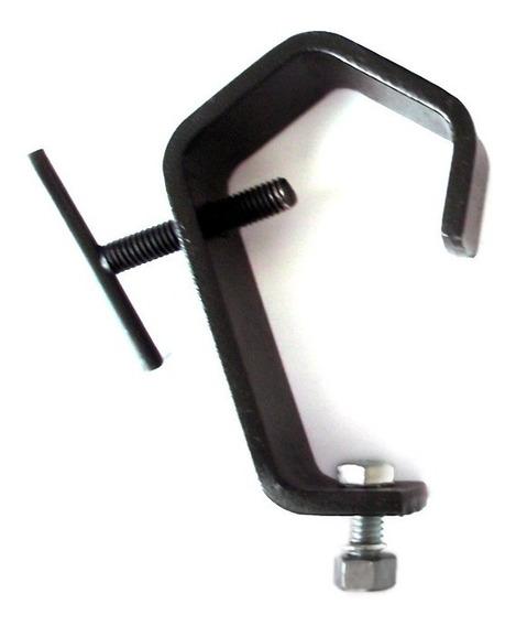 3x Garra Clamp Para Fixação De Iluminação - 2 Polegadas