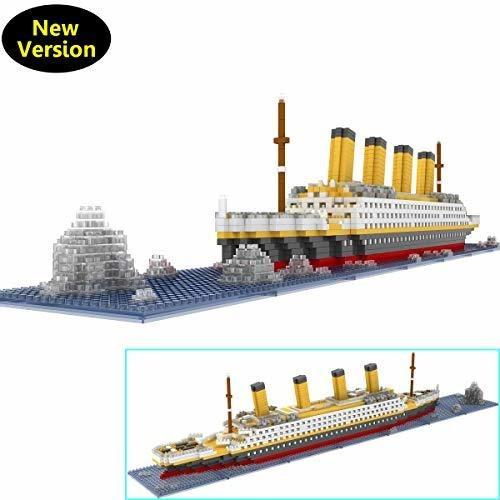 Conjunto De Bloques De Construccion De Modelo Titanic De One
