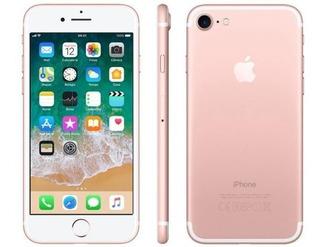 iPhone 7 256gb Ouro Rosa Desbloqueado Ios 11 Wi-fi + 4g