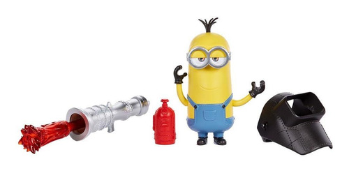 Figura Minions Travessos Kevin Lança Chamas - Mattel