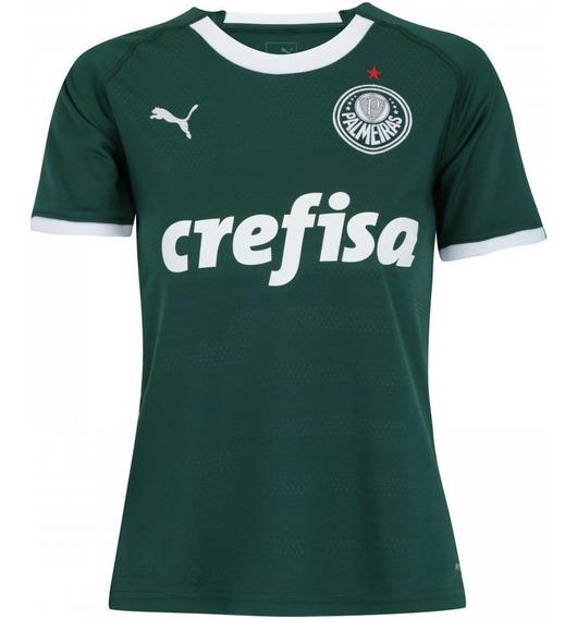Camisa Puma Palmeiras 2019 Feminina Original (personalize)