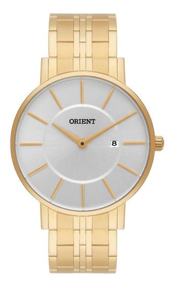 Relógio Orient Masculino Slim Mgss1091 S1kx Dourado Oferta