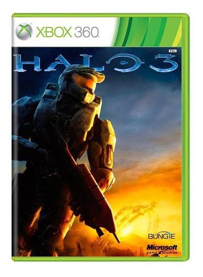 Halo 3 Xbox 360 Mídia Física Pronta Entrega