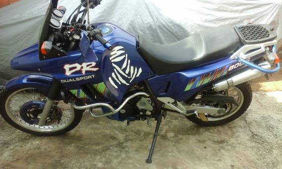 Troco Moto Adventure Suzuki Dr800s Por Custom!