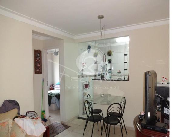 Apartamento Para Venda Próximo Ao Unimart Shopping Na Vila Industrial Em Campinas - Ap03155 - 34424894