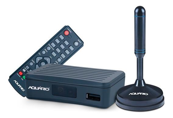 Kit Conversor Digital E Antena Interna Dtv-4100