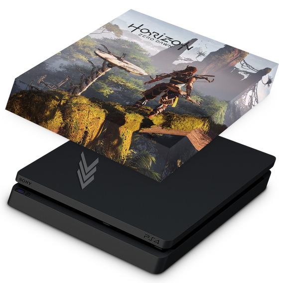 Capa Ps4 Slim Anti Poeira Playstation 4 Horizon Zero Dawn