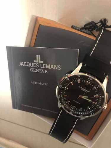 Relógio Jacques Lemans Suíço - Gu229a - Automático - 50mm