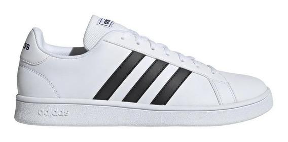 Zapatillas adidas Grand Court Base Hombre - Blanco