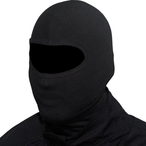 Touca Ninja Preta Balaclava Motoqueiro Militar Tatica Frio