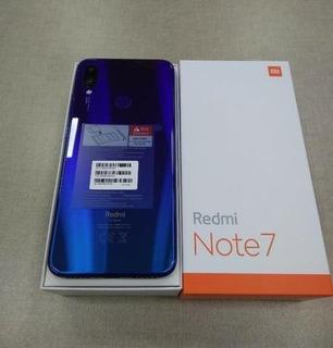 Celular Xiaomi Note 7 64gb Versão Global Preto E Azul