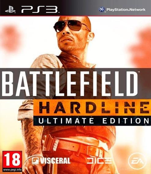 Battlefield Hardline Ultimate Edition Ps3 Midia Digital