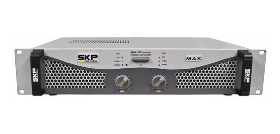 Amplificador Skp Max 720 De 700 Watts Rms - Bivolt