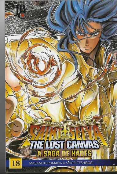 Mangá Cavaleiros Do Zodíaco Lost Canvas 18 - Editora Jbc Fre