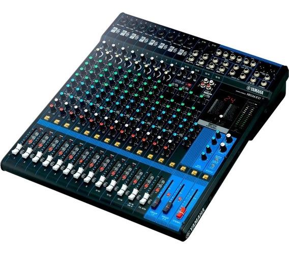 Mesa De Som Com 16 Canais Yamaha-analógica