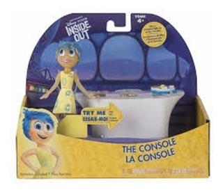 Disney Pixar De Dentro Da Figura Da Alegria Da Consola De Co