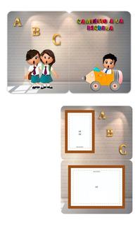 Folder Para Fotografía Escolar (paquete De 100 Pza.)