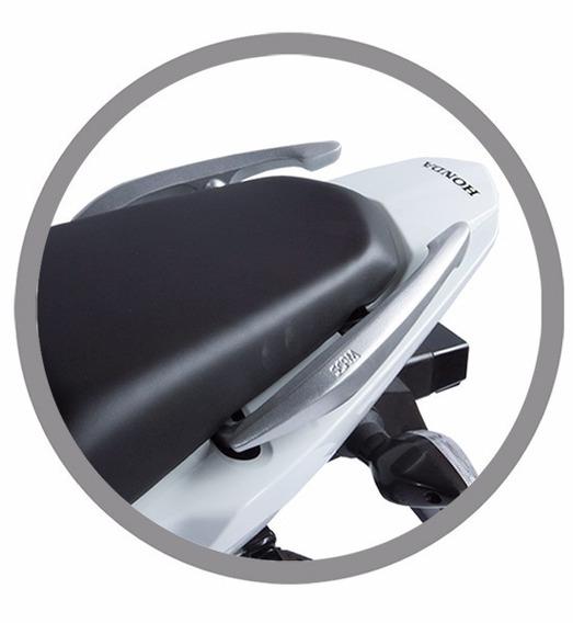 Alça Aluminio Cg Fan 125/150/160 Prata (exceto Titan 160)