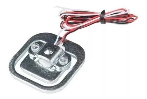 Célula De Carga Sensor De Peso 50kg Balança P/ Arduino Pic