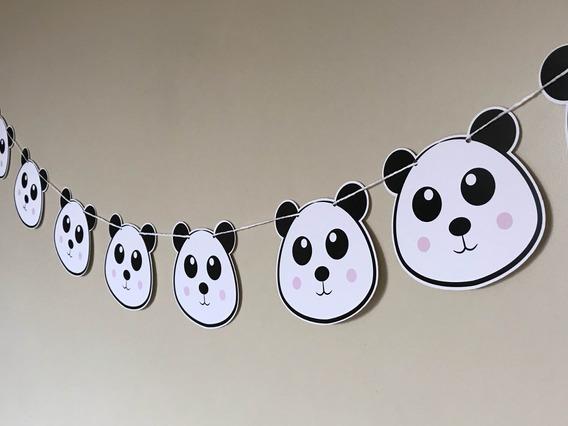 Guirnalda De Pandas Cotillón