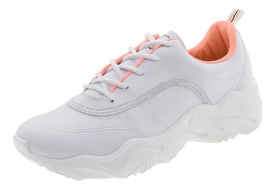 Tênis Feminino Dad Sneaker Moleca - 5677100 Branco