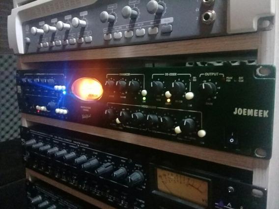 Pré Amplificador Para Instrumentos E Voz. Joemeek One Q