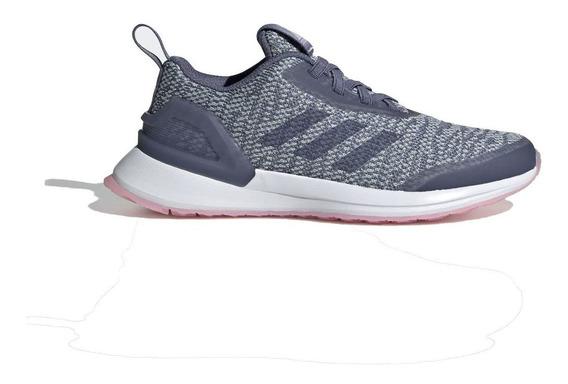 Tênis adidas Infantil Rapidarun X Knit El C N44 Cinza