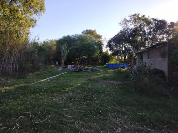 Buen Terreno Esquina Sobre Avenida Con Casa Y Galpón.