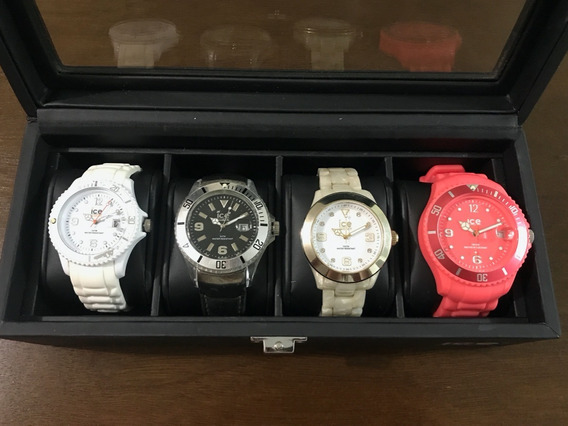 Set De 4 Relojes Ice-watch Originales Con Estuche Especial