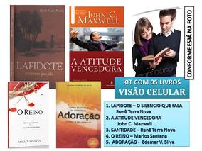 Livros Adoração, Reino, Santidade, Liderança