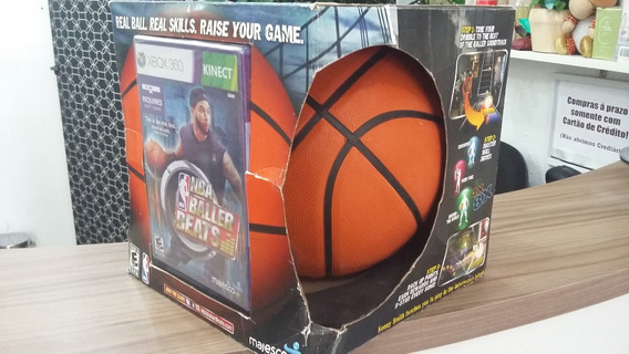 Bola Baskete + Jogo Nba Baller Beats Kinect Oficial Original