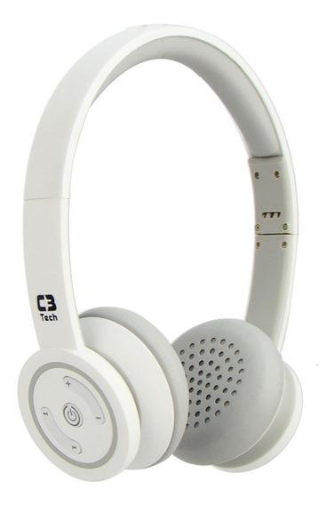 Fone De Ouvido C3 Tech Wh Com Microfone H-w955b
