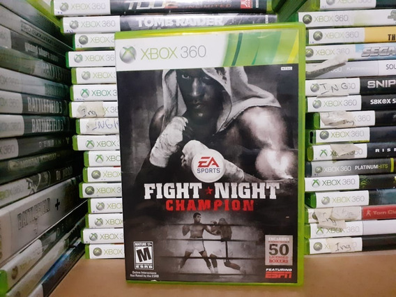 Jogo De Luta Fight Night Champion Xbox 360 Original Mídia