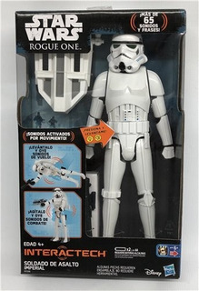 Star Wars Figura Electronica Rogue Imperial Stormtroo Hasbro