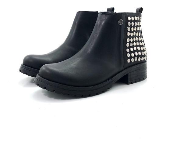 Bota Cuero Citadina Blake El Mercado De Zapatos!