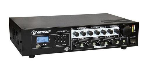 Amplificador Lin-z240tr Usb