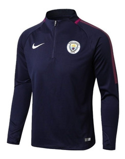 Conjunto Agasalho Do Manchester City Masculino - Oficial