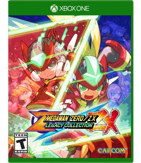 Mega Man Zero/zx Legacy Collection - Xbox One Mídia Física