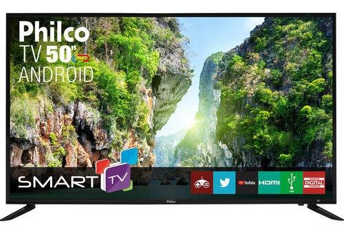 Smart Tv Led 50 Philco Ptv50d60sa Full Hd Conversor Digital