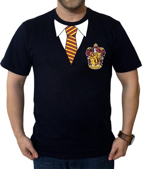 Camiseta Uniforme Grifinória Harry Potter