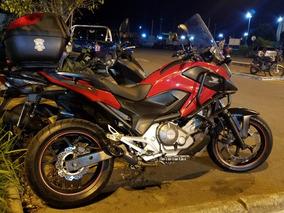 Honda Nc700x 2013 Vermelha , Vendo Ou Troco .
