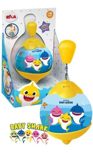 Roda Pião - Baby Shark - Elka 1131 Brinquedo Infantil