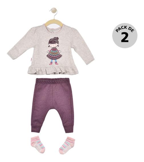 Conjunto De 3 Piezas Baby Creysi Jaspe Uh1300