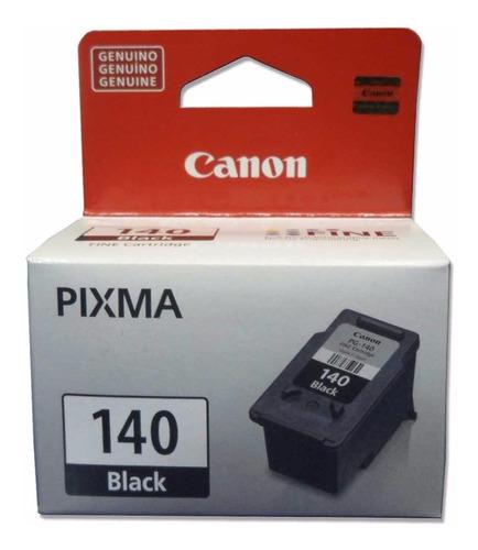 Imagen 1 de 5 de Cartucho Tinta Canon 140 Negro Pg-140 Original Para Mg2110
