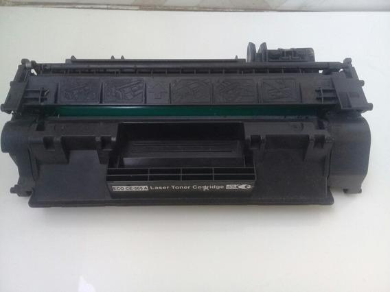 Kt 5 Toner Lazer Cartridge Eco Ce-505a Vazio