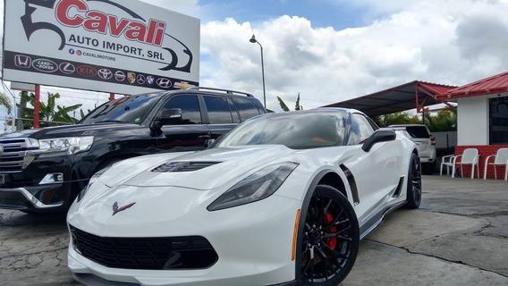 Chevrolet Corvette Z06 Supercharged V8 Blanco 2016
