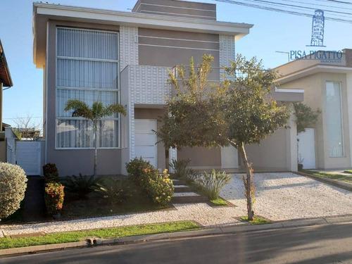 Casa À Venda, 210 M² Por R$ 1.200.000,00 - Condomínio Villa Bella Livorno - Paulínia/sp - Ca2318