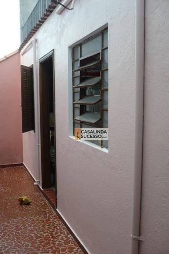 Casa Com 3 Dormitórios À Venda, 260 M² Por R$ 860.000,00 - Vila Guilhermina - São Paulo/sp - Ca6138
